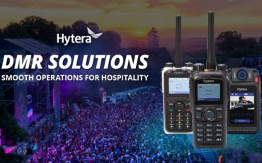 Hytera DMR solutions ensure smooth operations for the hospitality industry