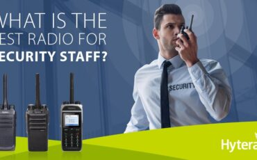 What is the best radio for security staff?